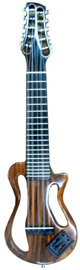Electric Concert Charango - Jacaranda Wood