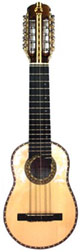 Professional Charango Armadillo Model - Ebony Fingerboard