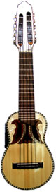 Professional Acoustic-Electric Charango - Butterfly Soundhole