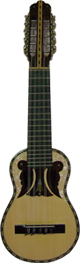 Concert Charango Butterfly Soundhole