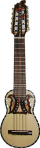 Professional Charango Butterfly Soundhole - Nacre Inlays