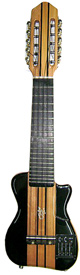 Electric Concert Charango - Ebony