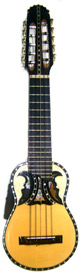 Professional Acoustic - Electric Charango - Butterfly Soundhole
