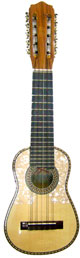 Acoustic - Electric Concert Charango - Round Soundhole