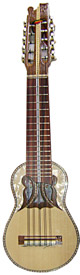 Professional Charango - Butterfly Soundhole - Decorated Fingerboard