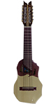 Professional Charango Nazareno Halfcover and Fingerboard