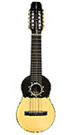"""Concert Charango with Rosette and Abalones ""Sun Design"""""
