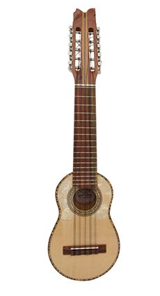 Charango for beginners with naranjillo wood jacaranda diapason