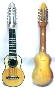 Professional Charango - Tago Wood with Nacar